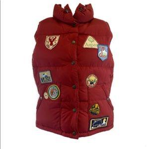Ralph Lauren Polo down puffer patch ski vest